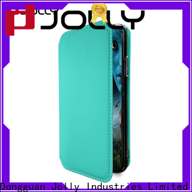 Jolly pu leather phone cases online supply for sale