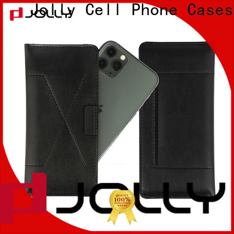 Jolly latest wholesale phone cases with credit card slot for cell phone