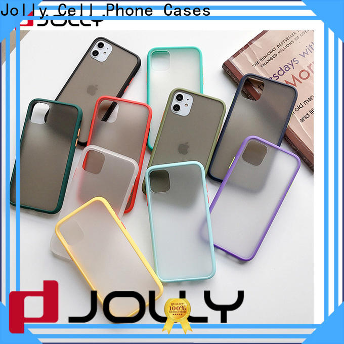 Jolly shock mobile back cover printing online supply for iphone xr