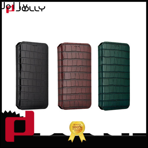 Jolly leather cell phone wallet case manufacturer for iphone xs