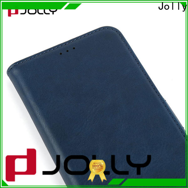Jolly initial flip phone covers for busniess for mobile phone