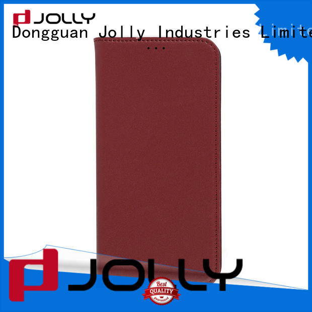 mobile phone case with credit card holder for iphone x Jolly