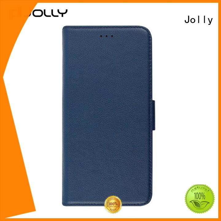 Jolly mobile phone case with credit card holder for mobile phone