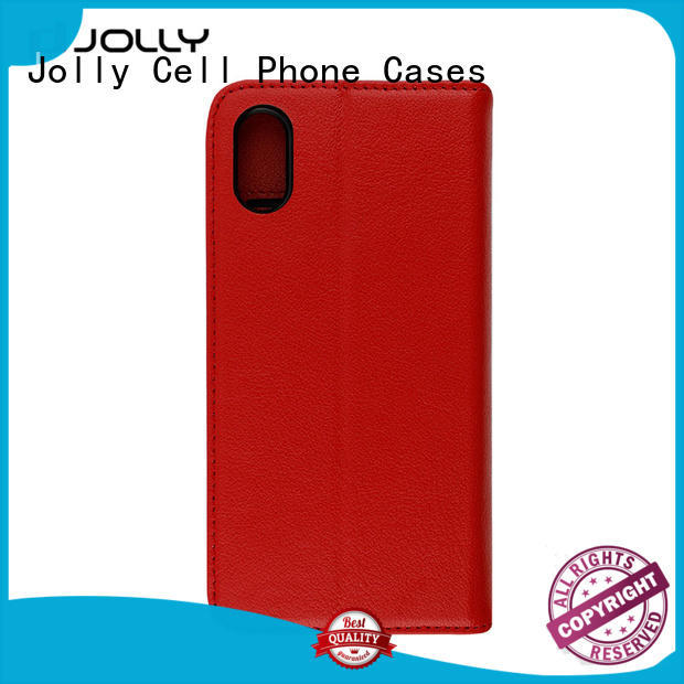 Designer iPhone X Case, First Layer Leather 2 In 1 Detachable Phone Case With Slot Kickstand DJS0833