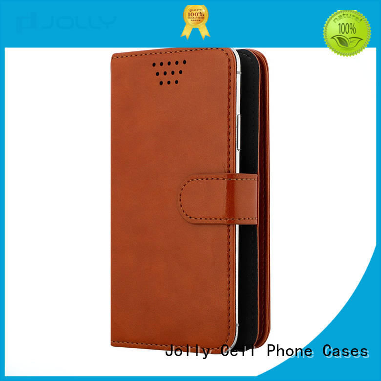 universal waterproof case with credit card slot for mobile phone Jolly