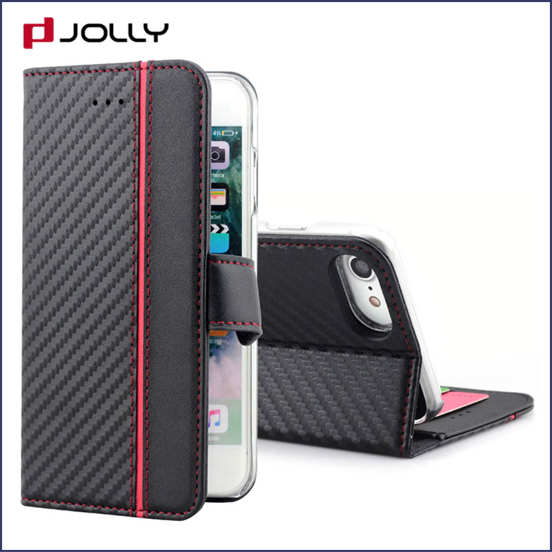 high quality personalised phone covers with credit card holder for iphone x-2