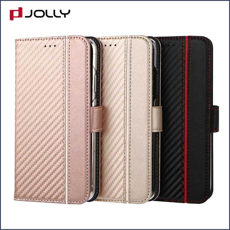 high quality personalised phone covers with credit card holder for iphone x-4