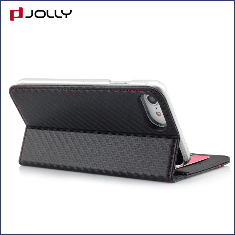 high quality personalised phone covers with credit card holder for iphone x-6