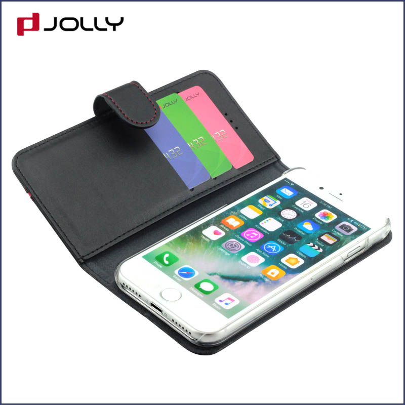 high quality personalised phone covers with credit card holder for iphone x-8