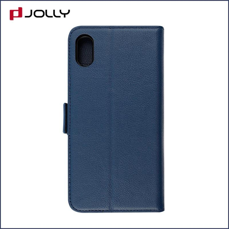 iPhone X Mobile Phone Case, Detachable 2 In 1 Tpu Case With Credit Card Holder DJS0834
