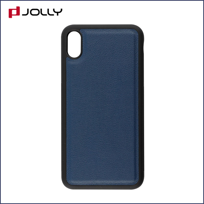 iPhone X Mobile Phone Case, Detachable 2 In 1 Tpu Case With Credit Card Holder DJS0834-7