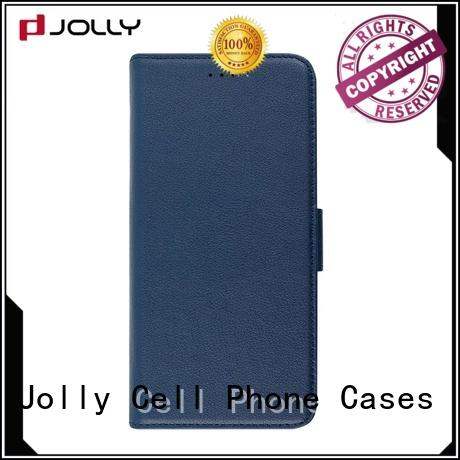 slim leather waterproof cell phone case for busniess for mobile phone