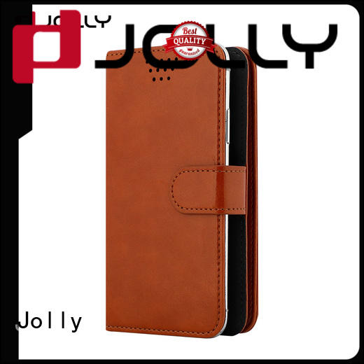 Jolly wholesale phone cases with card slot for cell phone