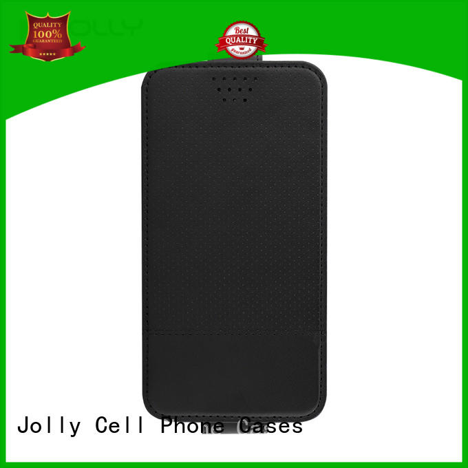 djs universal mobile cover with card slot for cell phone Jolly