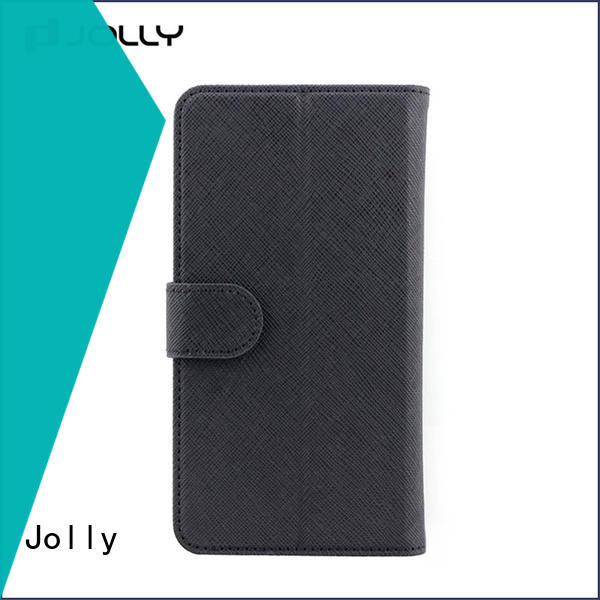 Jolly custom wholesale phone cases with card slot for mobile phone