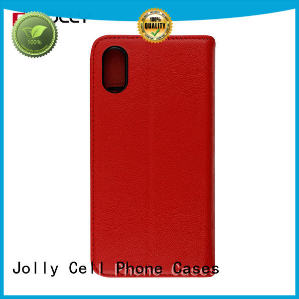 high quality cell phone protective cases with slot kickstand for iphone x Jolly
