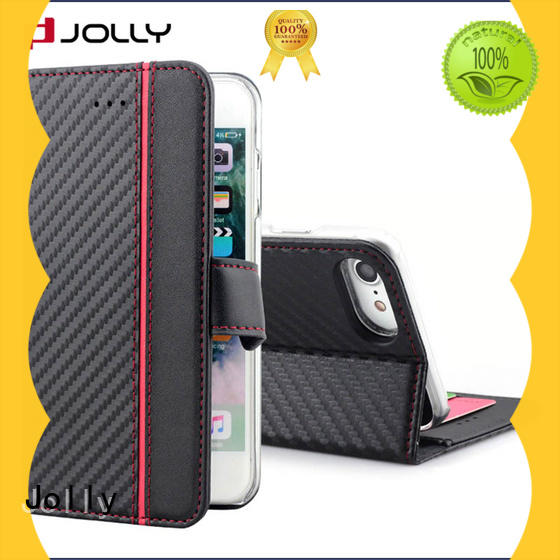 pu leather detachable phone case wallet with credit card holder for iphone xr Jolly