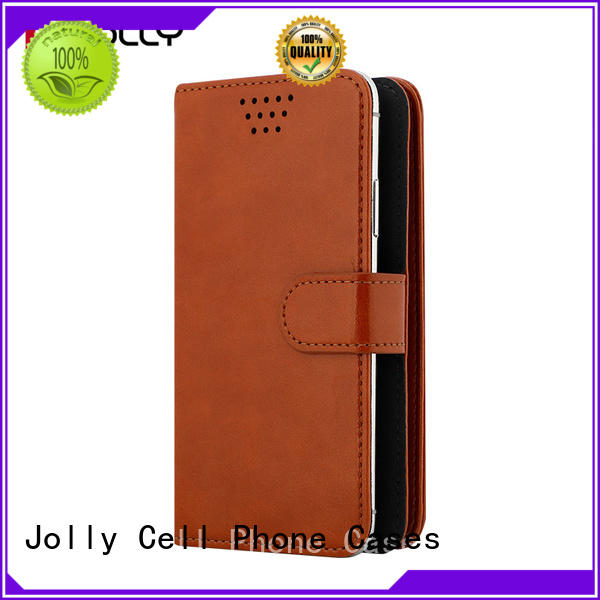 mobile phone accessories universal cell phone flip case with card slot for cell phone