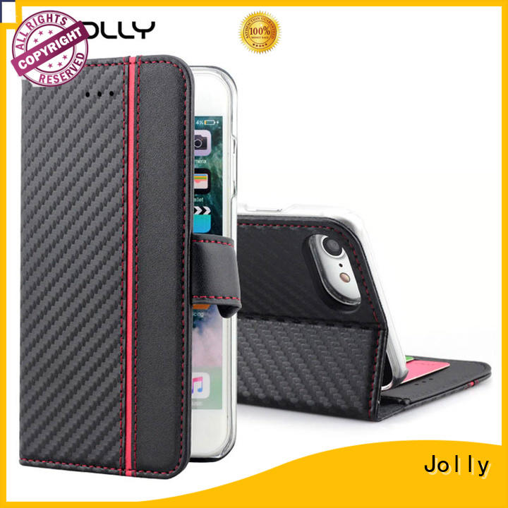 Jolly cheap phone cases with credit card holder for iphone xr