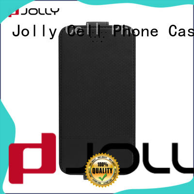 Jolly artificial leather universal smartphone case with adhesive for mobile phone