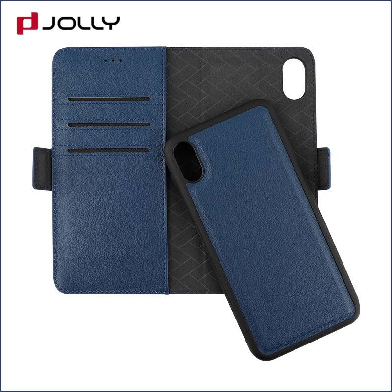 iPhone X Mobile Phone Case, Detachable 2 In 1 Tpu Case With Credit Card Holder DJS0834-2