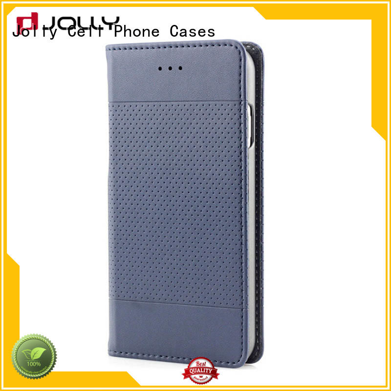 Jolly top essential phone case with slot kickstand for mobile phone