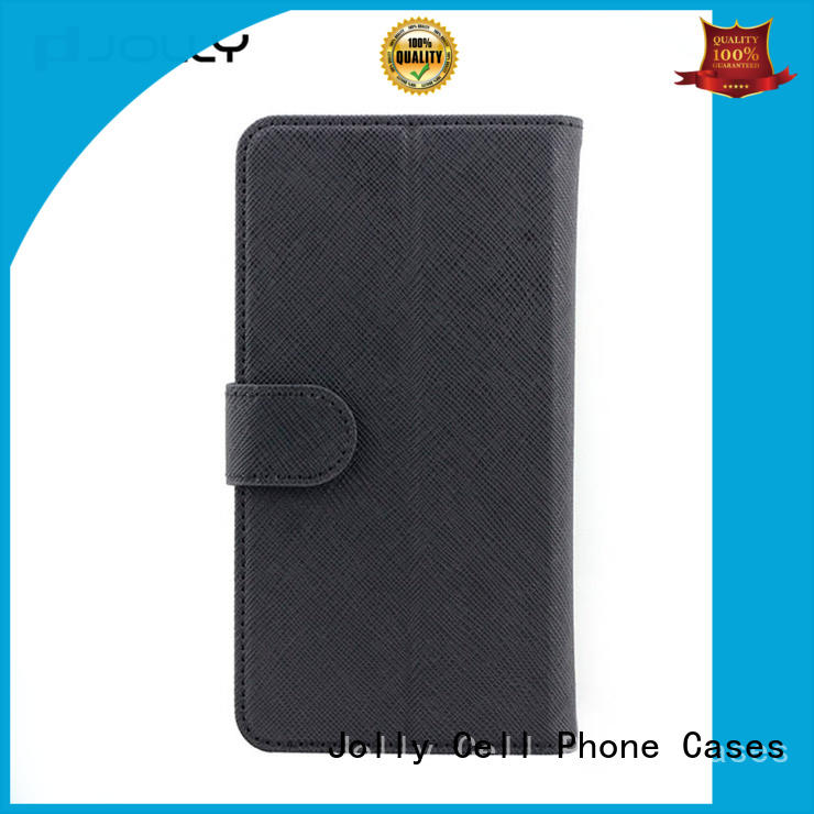 artificial leather universal smartphone cover with adhesive for sale