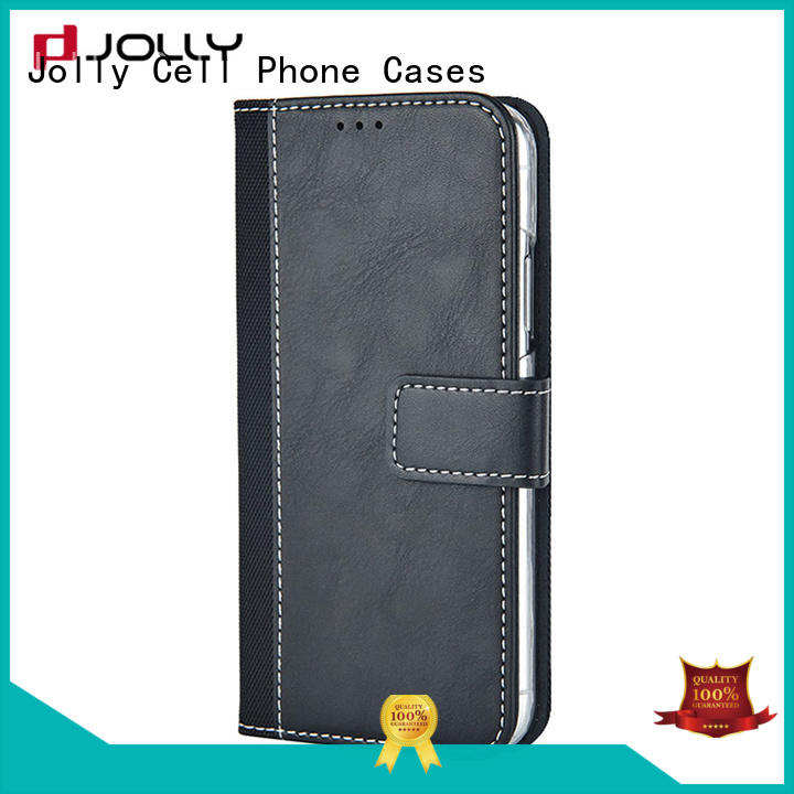 zip around phone case and wallet with printed pattern cover for iphone xs