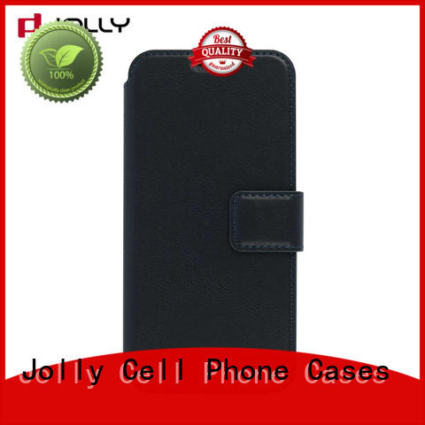 Jolly custom anti radiation phone case with slot for iphone xs