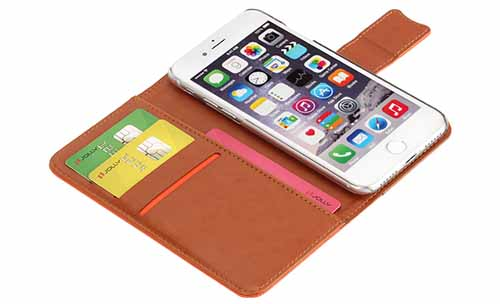 Jolly ladies purse crossbody leather wallet phone case company for mobile phone-8