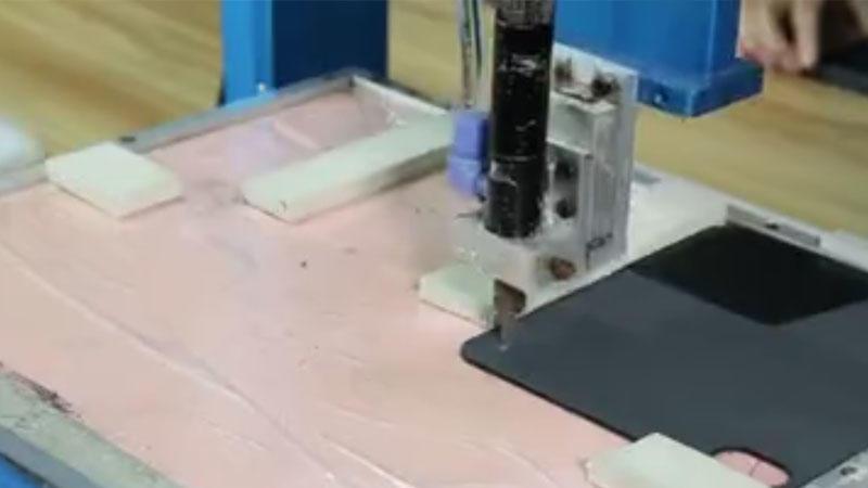 PU wallet case -- Automatic Gluing machine