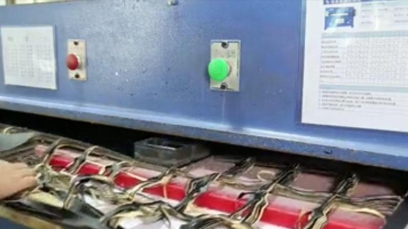 Folio case -- Cutting machine