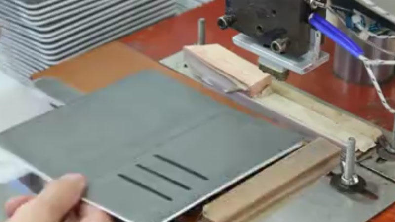 Flip phone case--Hot pressing LOGO