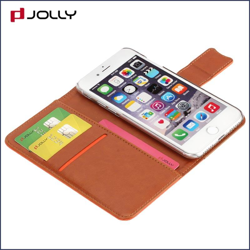 iPhone 8 7 Case Cover, Pu Leather Wallet Case With Credit Card Holder DJS0474