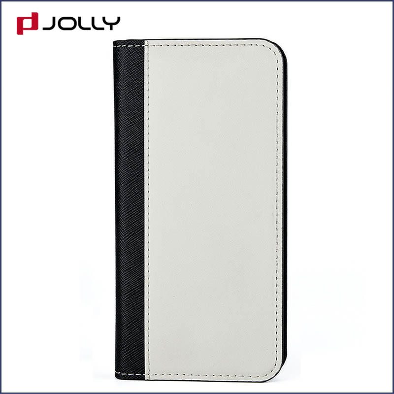 Jolly custom magnetic wallet phone case with slot for mobile phone