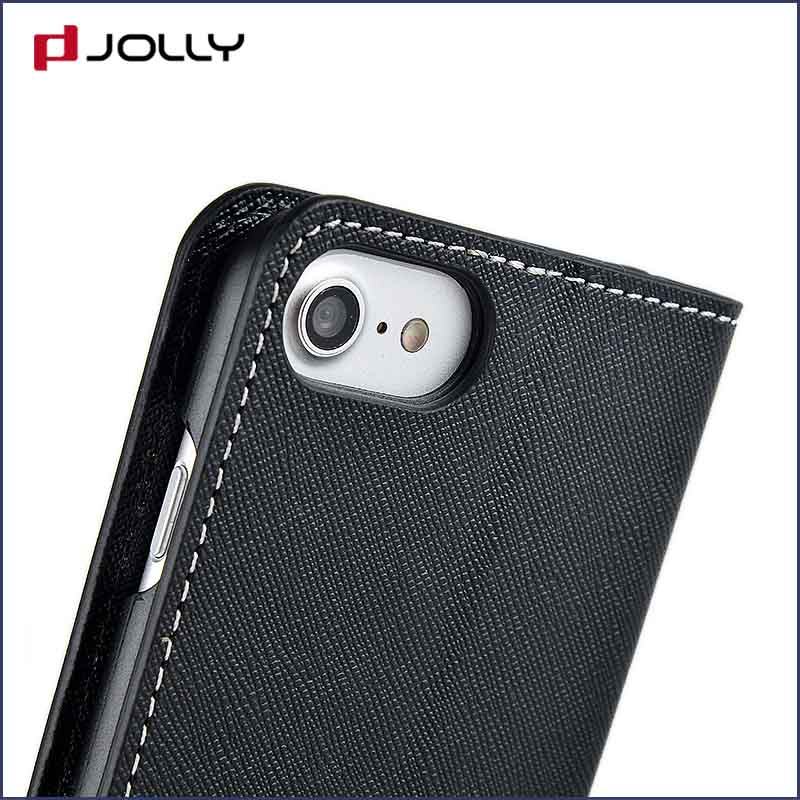 Jolly custom magnetic wallet phone case with slot for mobile phone-5