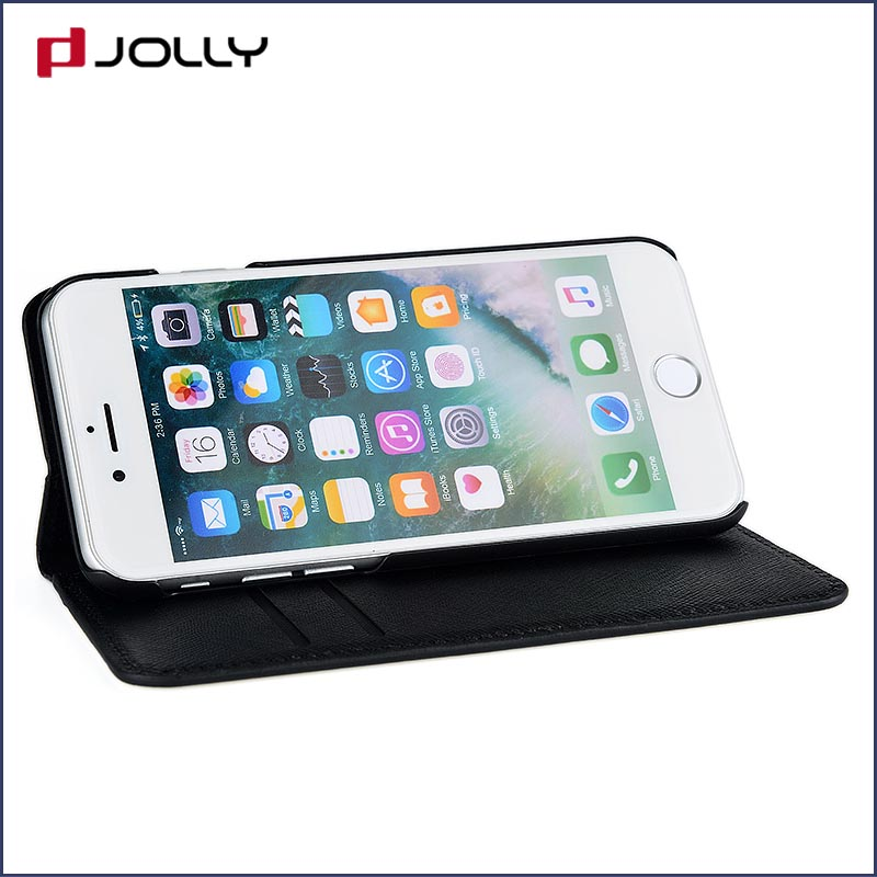 Jolly custom magnetic wallet phone case with slot for mobile phone-6