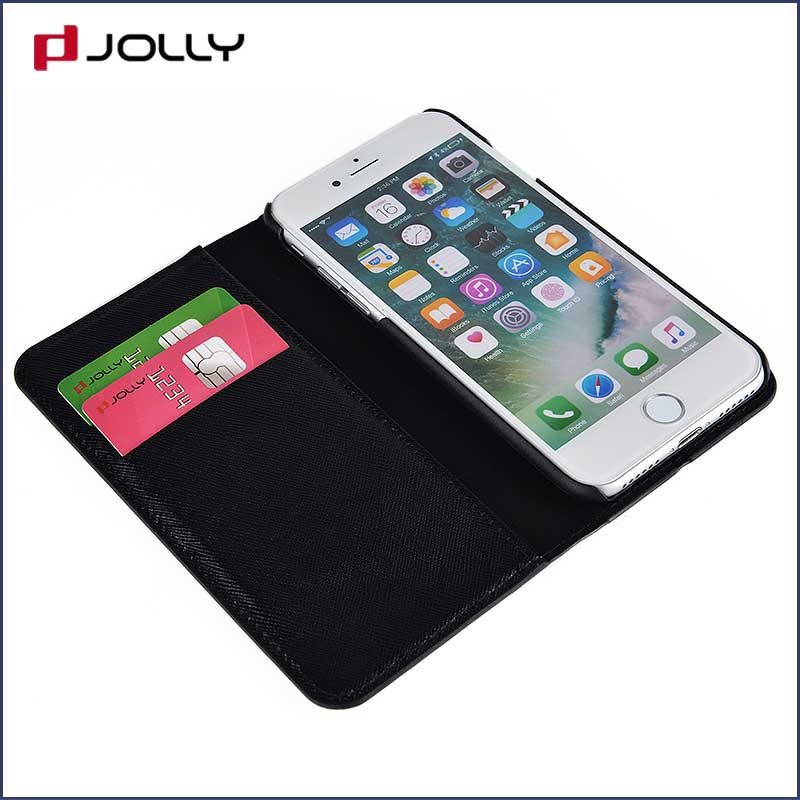 Jolly custom magnetic wallet phone case with slot for mobile phone-8