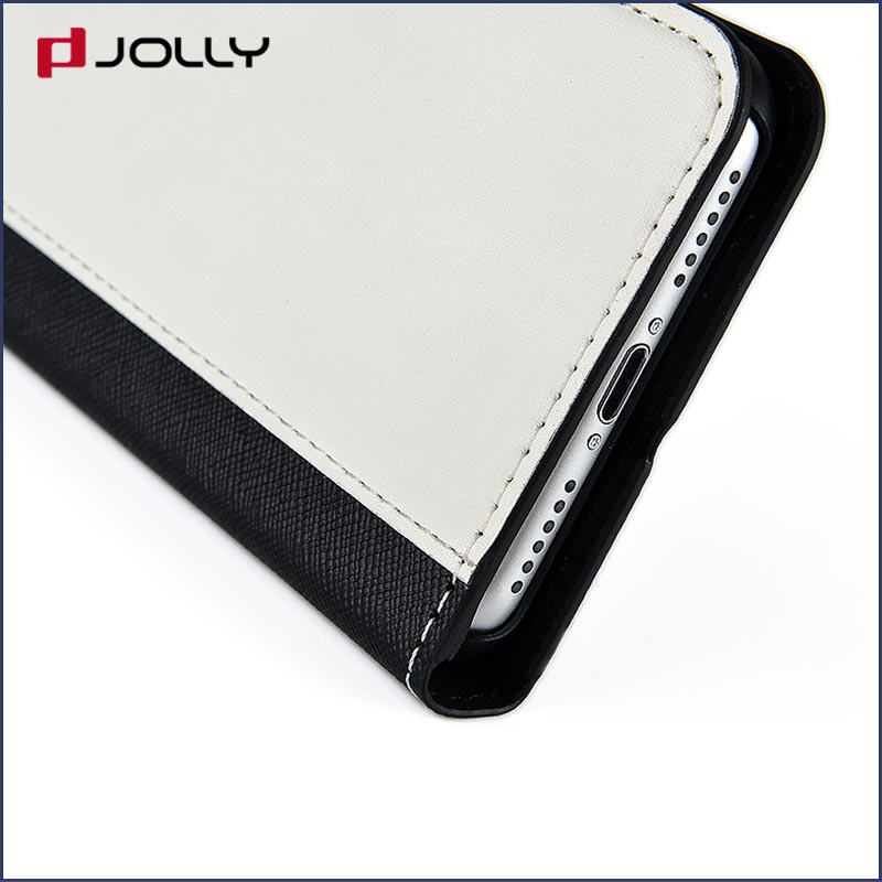 Jolly custom magnetic wallet phone case with slot for mobile phone-9