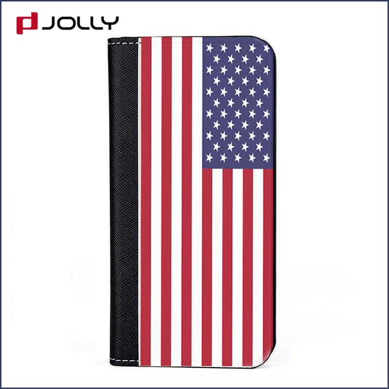 real carbon fiber cell phone wallet purse with cash compartment for apple