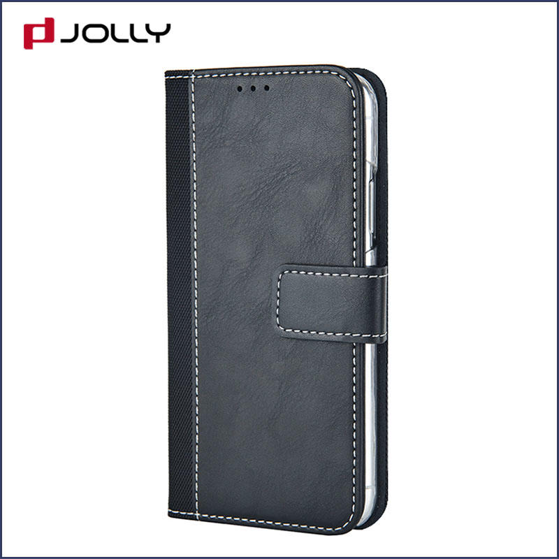 Apple iPhone 8 7 Case, Imitation Leather Book Case With Id & Credit Card Pockets DJS0569