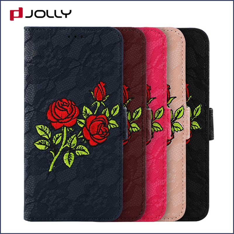 Jolly cell phone wallet case for busniess for mobile phone-1