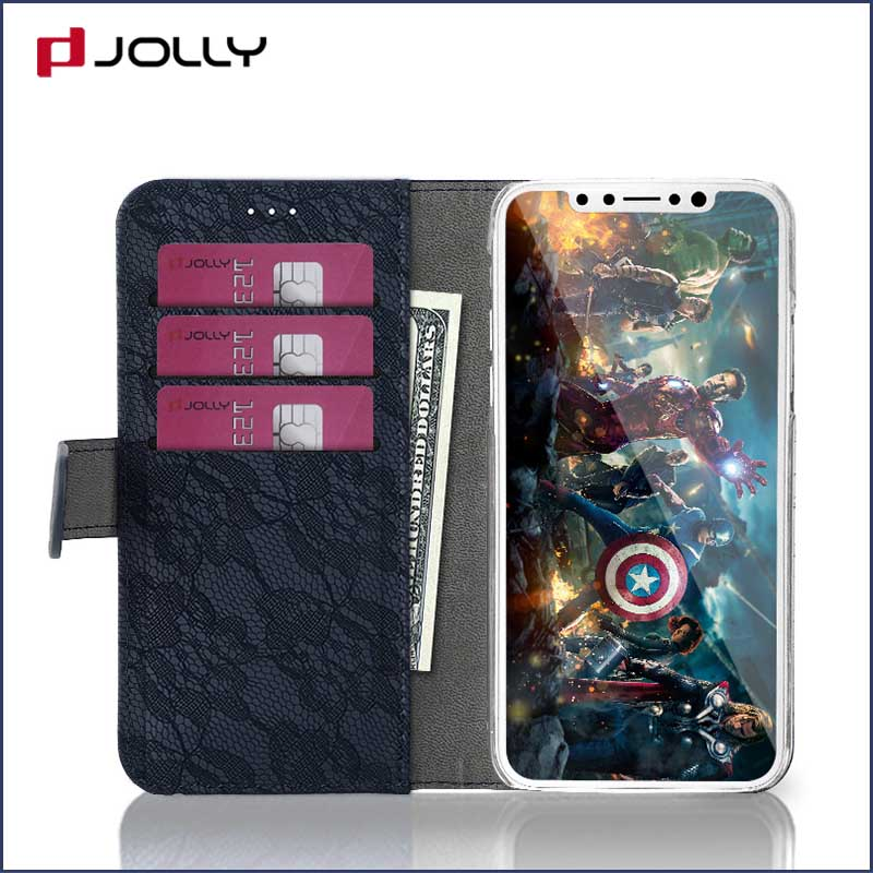 Jolly cell phone wallet case for busniess for mobile phone-11