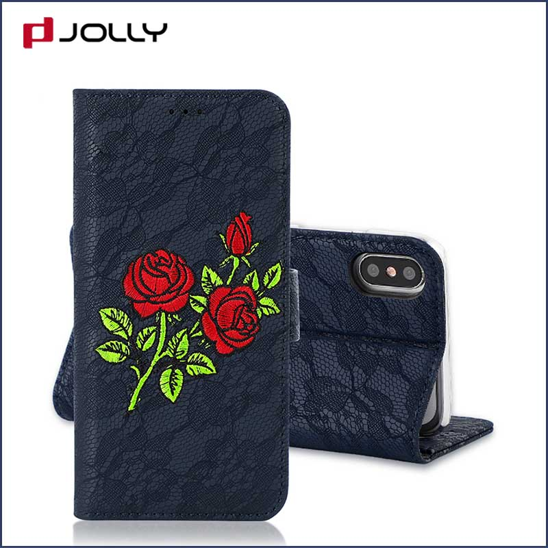 Jolly cell phone wallet case for busniess for mobile phone-2
