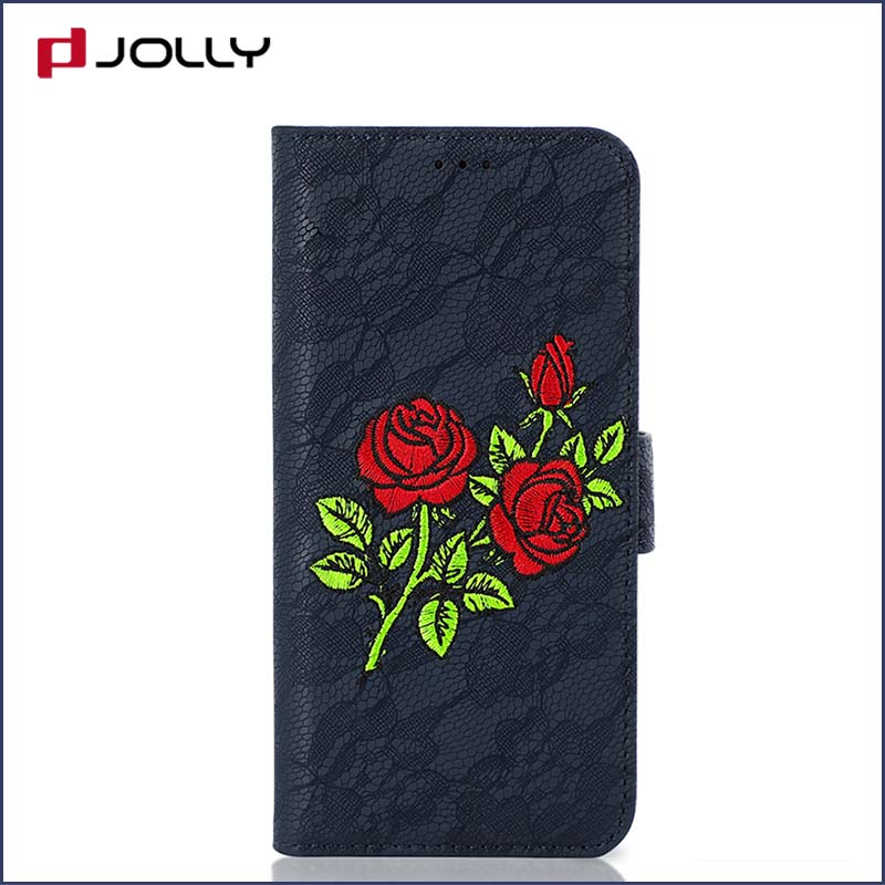 Jolly cell phone wallet case for busniess for mobile phone-4