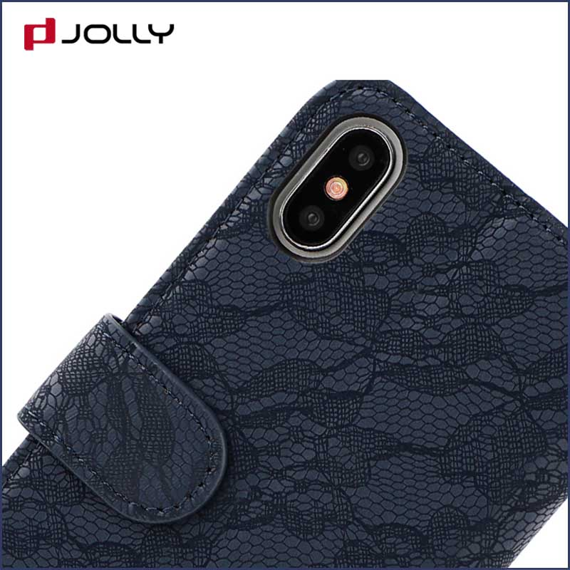 Jolly cell phone wallet case for busniess for mobile phone-5