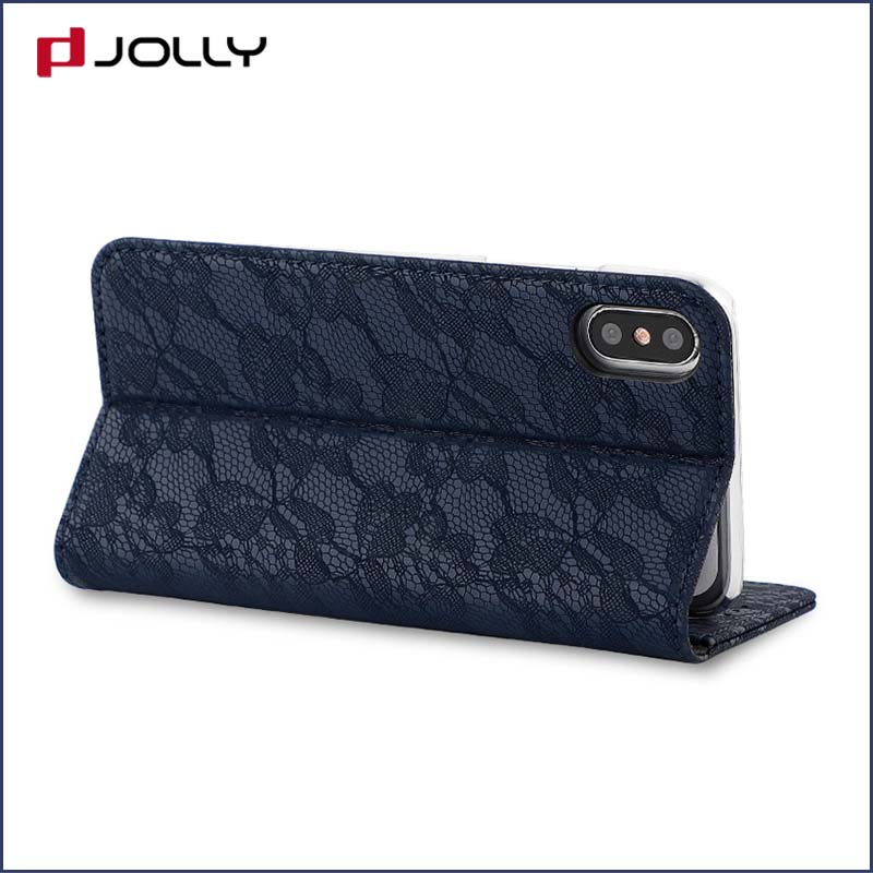 Jolly cell phone wallet case for busniess for mobile phone-6