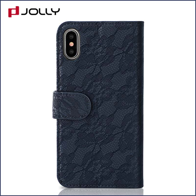 Jolly cell phone wallet case for busniess for mobile phone-7