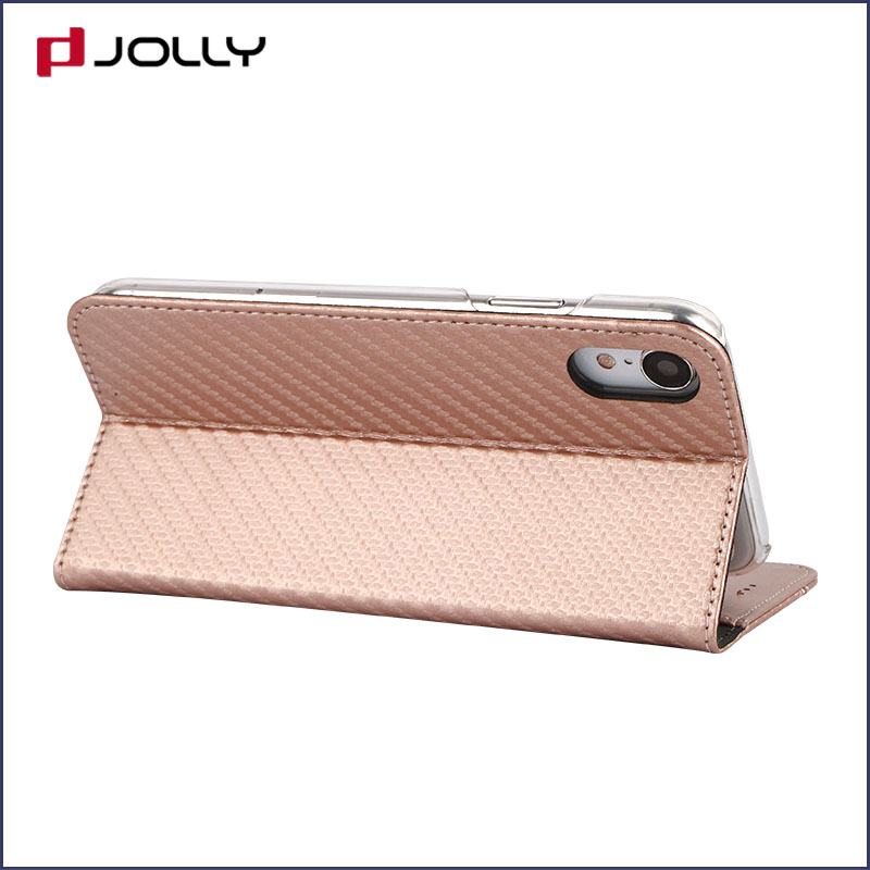 Jolly ladies purse crossbody leather wallet phone case for busniess for iphone xs-6