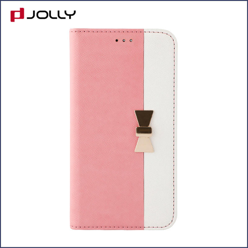 iPhone X Cell Phone Covers, Pu Leather Flip Phone Case With Slot Kickstand DJS0741